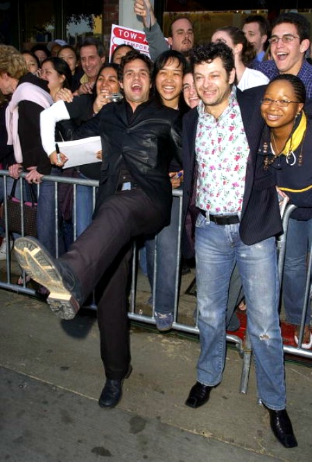 Mark Ruffalo e Andy Serkis