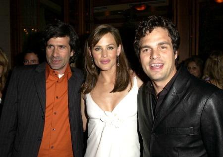O diretor Gary Winick com Jennifer Garner e Mark Ruffalo