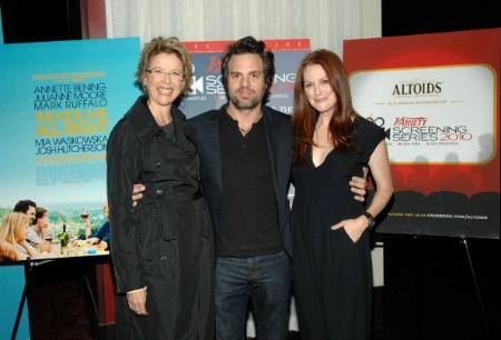 Annette Bening, Mark Ruffalo e Julianne Moore