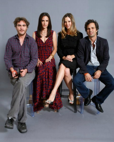 Joaquin Phoenix, Jennifer Connelly, Mira Sorvino e Mark Ruffalo