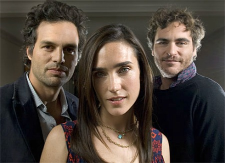 Mark Ruffalo, Jennifer Connelly e Joaquin Phoenix