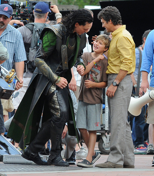 THE AVENGERS FILMING IN NEW YORK