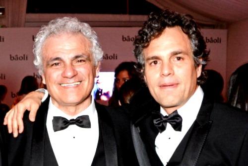 Mark Ruffalo e seu pai, Frank Ruffalo
