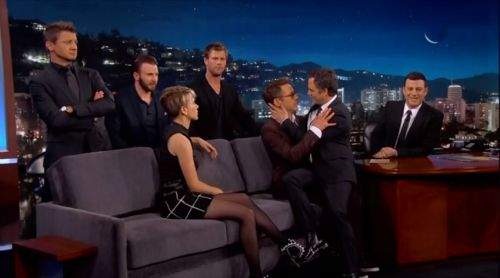 Jimmy-Kimmel-Avengers-Age-of-Ultron-gay-yaoi-art-Robert-Downey-Jr.-Mark-Ruffalo-Chris-Hemsworth-Chris-Evans-Scarlett-Johansson-